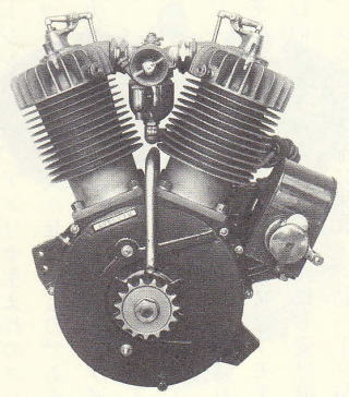 F Head Vtwin Engine